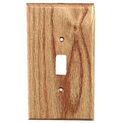 Traditional - 1 Toggle Unfinished Color: Red Oak