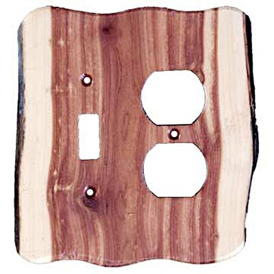 Rustic Toggle/Duplex Finish: Juniper Plate