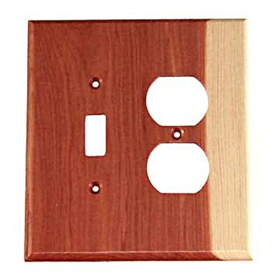 Traditional - Toggle / Duplex Unfinished Color: Tennessee Aromatic Cedar