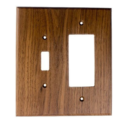 Traditional - Toggle / Rocker - Black Walnut Finish: Black Walnut