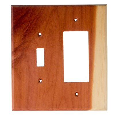 Traditional - Toggle / Rocker Unfinished Color: Tennessee Aromatic Cedar