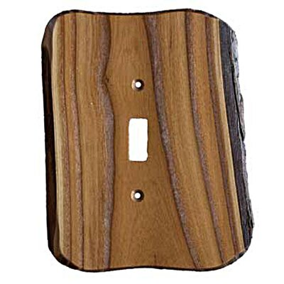 Rustic - 1 Toggle Finished Switchplate Cover Finish: Russian Olive
