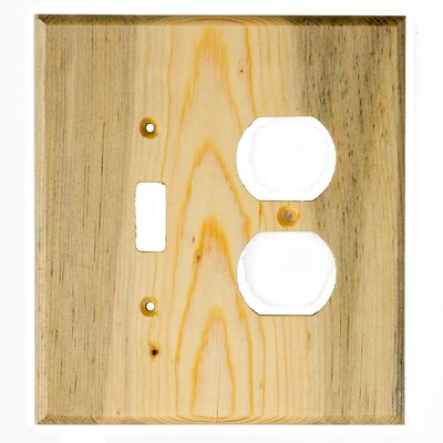 Traditional Toggle / Duplex Finish: Blued Pine