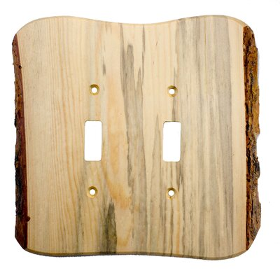 Rustic - 2 Toggle Finished Finish: Blued Pine