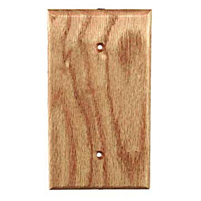 Traditional 1 Blank Unfinished Color: Red Oak