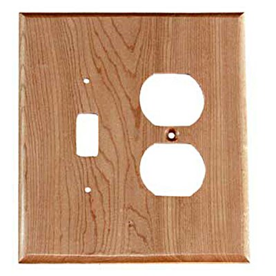 Traditional - Toggle / Duplex Unfinished Color: Natural Maple