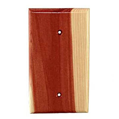 Traditional 1 Blank Unfinished Color: Tennessee Aromatic Cedar