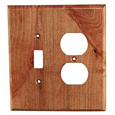 Traditional - Toggle / Duplex Unfinished Color: Alder