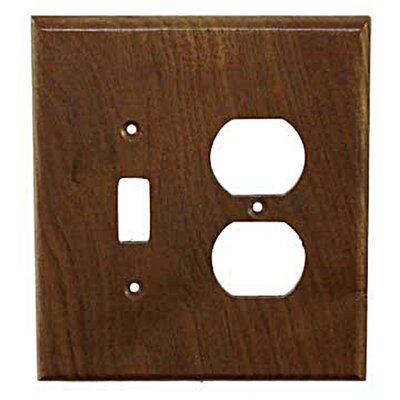 Traditional - Toggle / Duplex Unfinished Color: Black Walnut