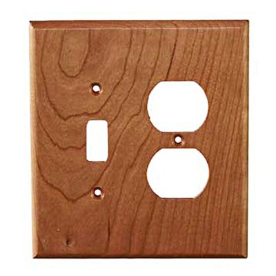 Traditional Toggle / Duplex Finish: Cherry