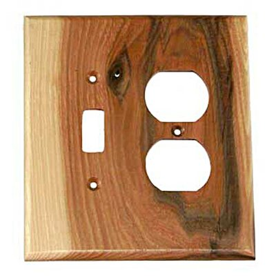 Traditional - Toggle / Duplex Unfinished Color: Rustic Hickory