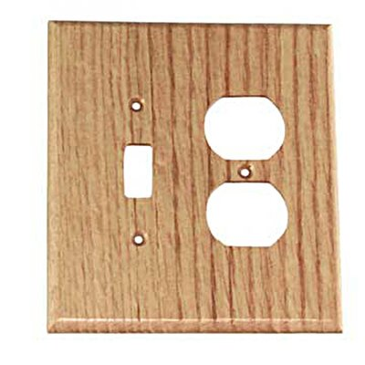 Traditional - Toggle / Duplex Unfinished Color: Red Oak