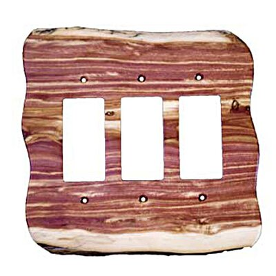 Rustic - 3 rocker Unfinished - Juniper