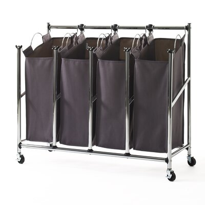 Quad Front Load Laundry Sorter