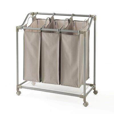 Deluxe Triple Laundry Sorter