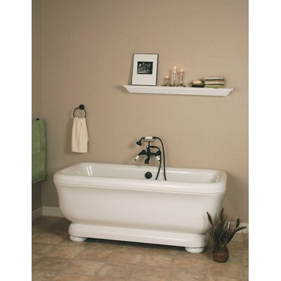 Windemere 70 x 34 Freestanding Soaking Bathtub