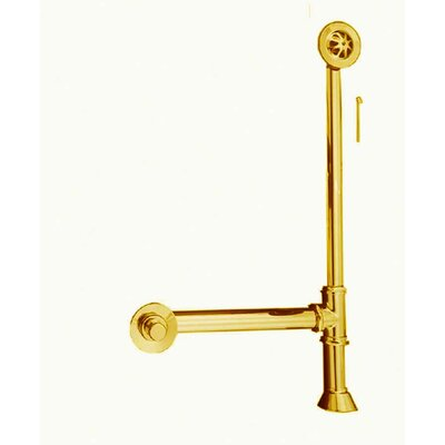 Extended Waste and Overflow Finish: Supercoated Brass