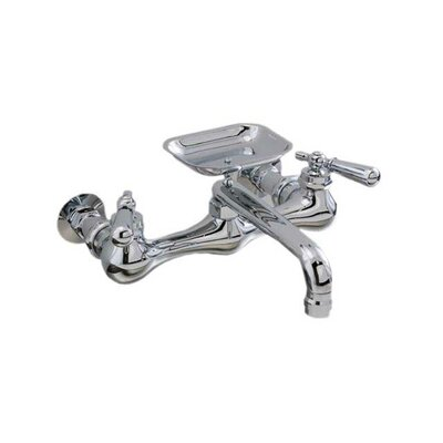 Double Handle Wall Mounted Kitchen Faucet