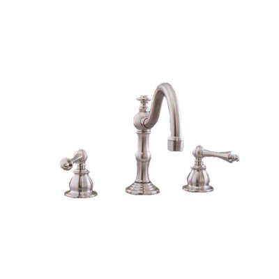 Double Handle Widespread Bathroom Faucet Finish: Matte Nickel