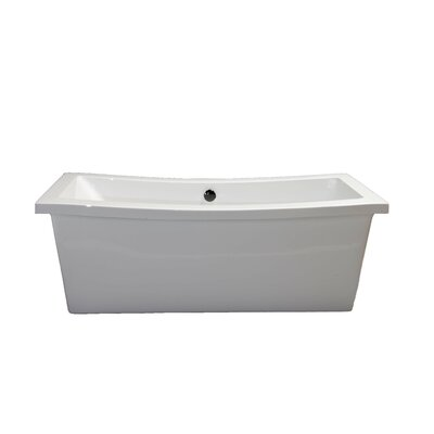 Klamath 67 x 33 Soaking Bathtub Finish: Oil Rubbed Bronze