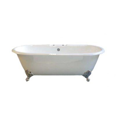 Cloud 67 x 31 Soaking Bathtub Leg Finish: Chrome