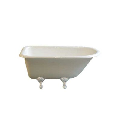 Harmony 49 x 31 Soaking Bathtub Leg Finish: White