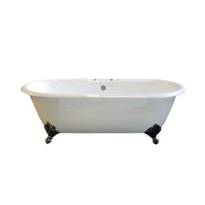 Cloud 67 x 31 Soaking Bathtub Leg Finish: Oil Rubbed Bronze