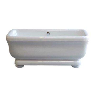 Windemere 70 x 34 Soaking Bathtub Leg Finish: Chrome