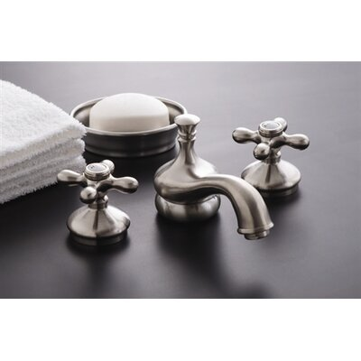 Sacramento Widespread Bathroom Faucet with Pop-Up Drain Finish: Supercoated Brass