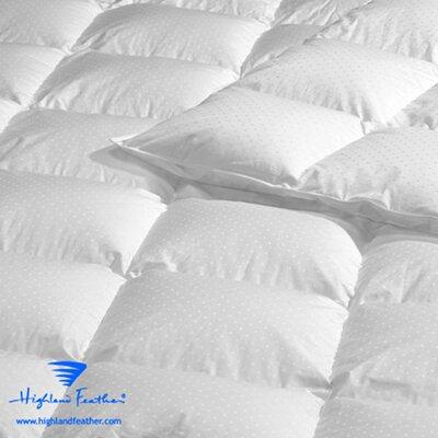 Aquitaine Down Comforter Size: Queen