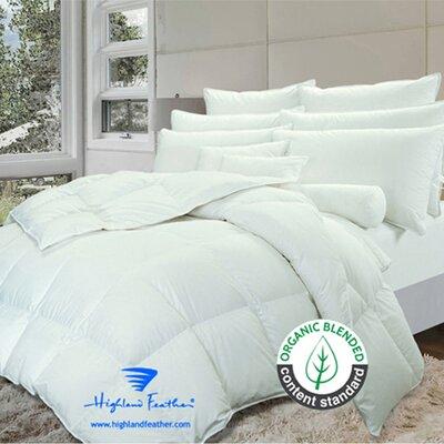 Birmingham Down Comforter Size: Double