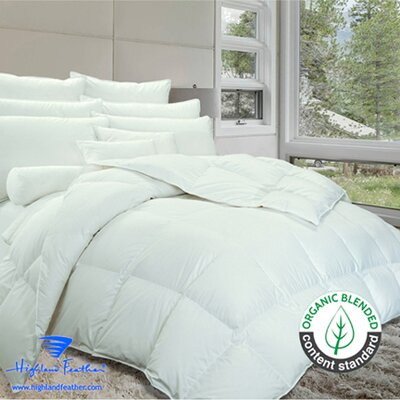 Brighton Down Comforter Size: Twin