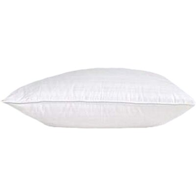 Damask Goose Down Pillow Size: Standard