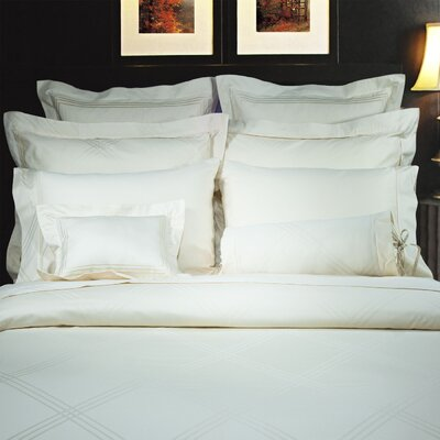 Diamond Duvet Cover Set Size: Queen