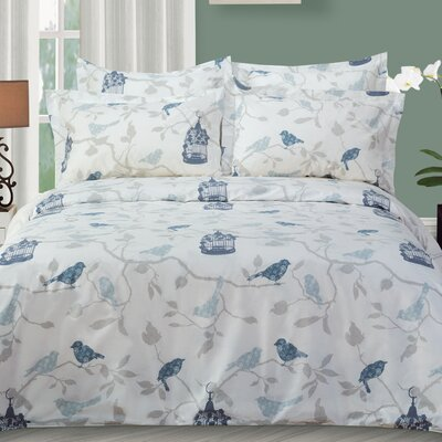 Abbeville Duvet Cover Set Size: Queen