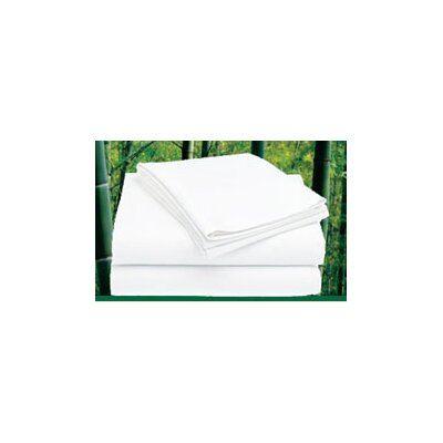 300 Thread Count Sheet Set Color: White, Size: King (No Eco Green)
