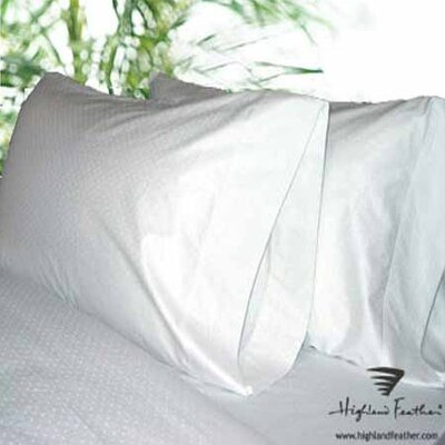 Zurich Pillowcase (Set of 2) Size: Standard, Color: Olive Dot