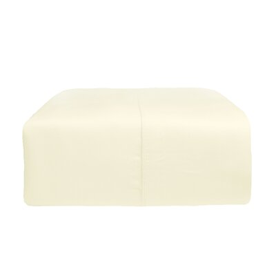Rayon from Bamboo Pillow Case Size: King, Color: Ivory
