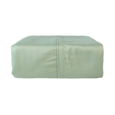 Pillow Case Color: Eco Green, Size: King