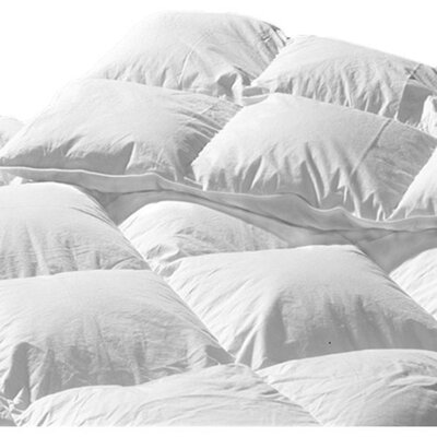 La Palma Lightweight Down Duvet Insert Size: Queen (25 oz)