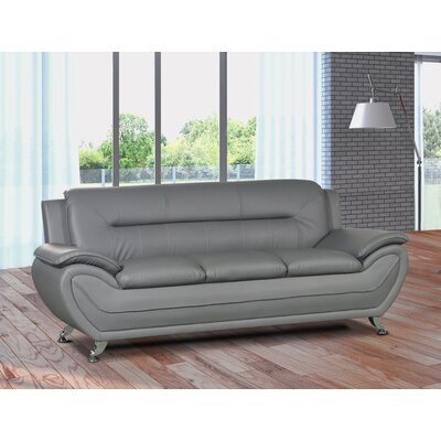 Lester Modern Living Room Sofa Upholstery: Gray