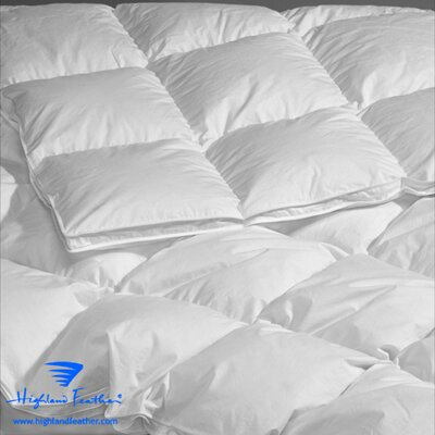 Brittany Lightweight Down Comforter Size: California King