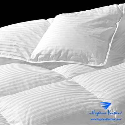 Lorient Heavyweight Down Comforter Size: King