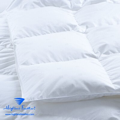 Marseille Midweight Down Comforter Size: California King