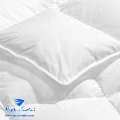 Thionville Heavyweight Down Comforter Size: California King