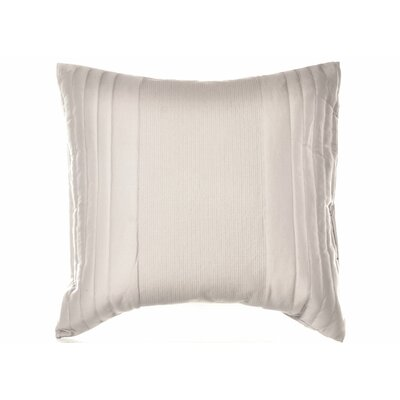 Bamboo Leaves Quilted Cotton Lumbar Pillow