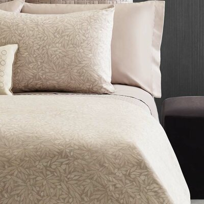 Bamboo Rayon Leaves 300 Thread Count 100% Cotton Sheet Set Size: King