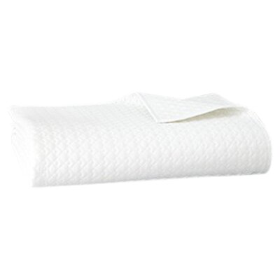 Vera Wang Double Diamond Cotton Quilt - Size: King