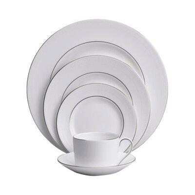 Blanc Sur Blanc Bone China 5 Piece Place Setting, Service for 1 032677719800