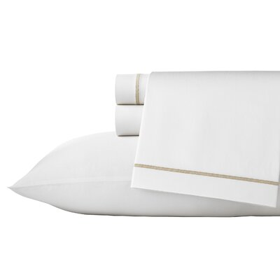 Winter Blossoms 300 Thread Count Cotton Sheet Set Size: Queen